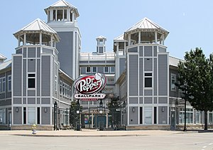 Frisco, Texas - The main entrance of Dr Pepper Ballpark