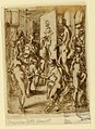 Drawing, Page of a sketchbook; Zeuxis painting Helen, ca. 1590 (CH 18117849).jpg