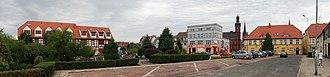Drezdenko - Town square