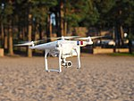 Drone at Hietaniemi beach.jpg