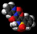 Droxicam 3D spacefill.png