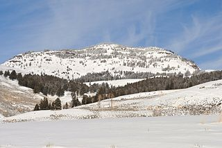 Druid Peak mountain in United States of America