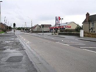 A6 road (Northern Ireland) - Image: Drumahoe