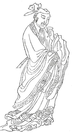 Du Mu - Du Mu by Shangguan Zhou (上官周, b. 1665).