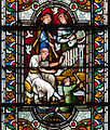 Dublin Christ Church Cathedral South Aisle Window Jubal and David Detail Jubal 2012 09 26.jpg