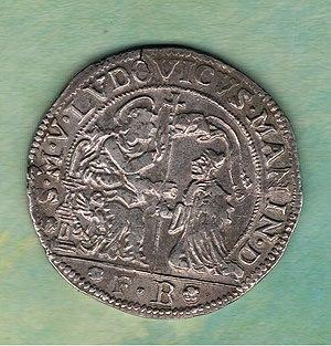 Ludovico Manin - Ducatus Venetus, Venetian ducat, of the reign of Manin.