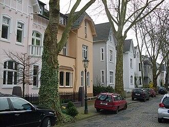 Düsseldorf-Gerresheim - Image: Duesseldorf Gerresheim Sonnbornstr