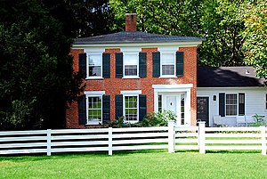 1848 in architecture - Duncan House, Cooksville, Wisconsin (1848)