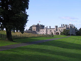 Dundas Castle castle in West Lothian, Scotland