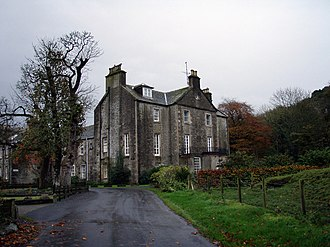 Dunragit - Image: Dunragit House geograph.org.uk 596165
