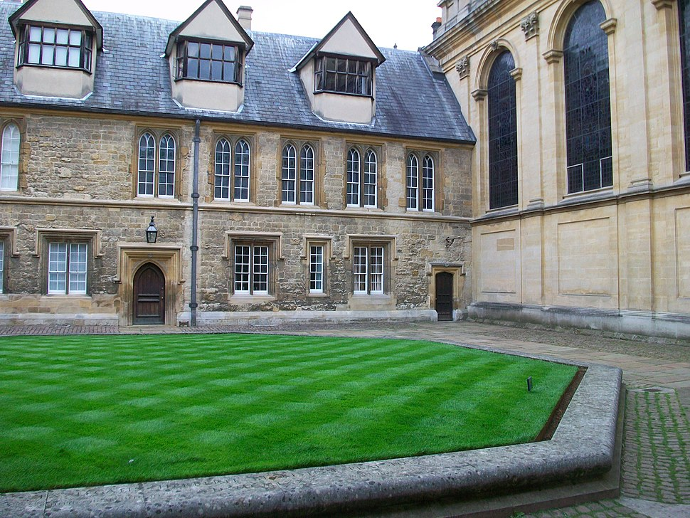 Durham Quad, Trinity College, Oxford