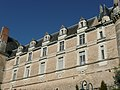 Durtal - Château - Corps de logis extérieur.jpg
