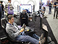 E3 2011 - Playseat racing seats (5831894364).jpg