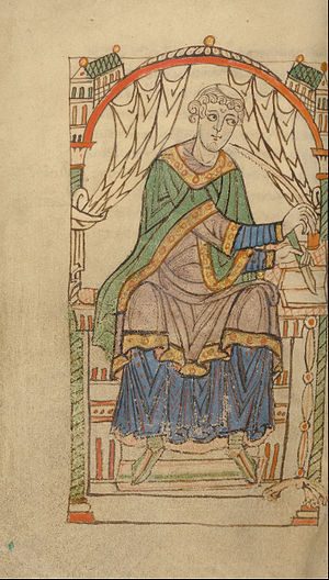 Eadmer - Miniature (about 1140 - 1150)