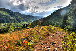 Eagles Nest Wilderness - Eagles Nest Wilderness Area near Vail, Colorado
