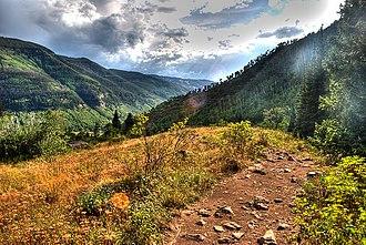 Eagles Nest Wilderness - Eagles Nest Wilderness Area near Vail, Colorado