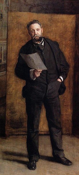 Portrait of Leslie W. Miller - Image: Eakins, Leslie W Miller 1901