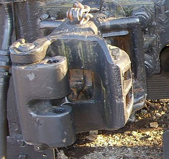 South African Class GF 4-6-2+2-6-4 - Transition era knuckle coupler