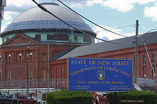 East Jersey State Prison Maximum-security prison in New Jersey