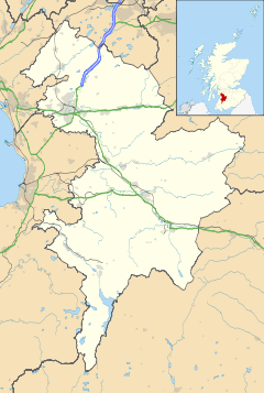 Kilmaurs is located in East Ayrshire