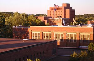 University of Wisconsin–Eau Claire - A view from the campus library