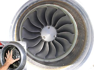 Pratt whitney canada jt15d wikivisually pratt whitney canada pw600 inlet of the pw610f turbofan engine inset shows a fandeluxe Image collections