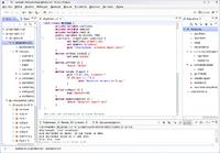 Eclipse-dltk-itcl en fedora 11 con KDE 4.2.4.png