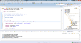 Eclipse 4.3 nella perspective J2EE