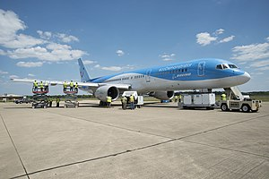 757 aircraft used as testbed in 2015