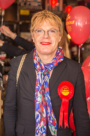 Eddie Izzard - Izzard at a Labour Party rally in 2015
