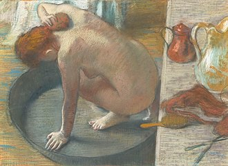 1886 in art - Degas – The Tub