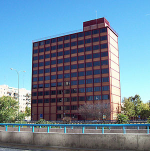 Arriba (newspaper) - This Madrid building was the headquarters of Arriba from 1962 until its closure in 1979.