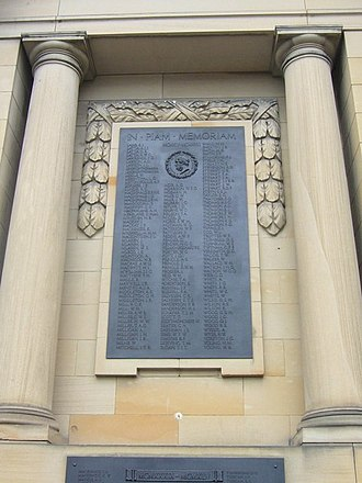 Edinburgh Academy - Edinburgh Academy War Memorial