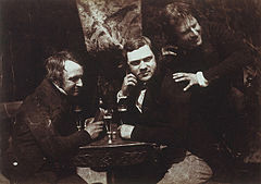 Edinburgh Ale, James Ballantine, Dr George Bell and David Octavius Hill.jpg