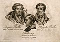 Edme-Samuel Castaing, the poisoner, and his two victims; Aug Wellcome V0006756.jpg
