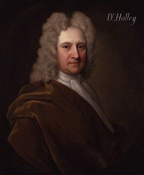 Edmund Halley, quien fue, aportes a la astronomía, que descubrió