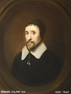 Edmund Calamy the Elder English Presbyterian church leader; the elder