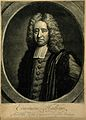 Edmund Halley. Mezzotint by J. Faber, 1722, after T. Murray, Wellcome V0002531.jpg