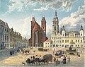 Eduard Gurk - Domkirche und bischöfliche Residenz in Königgrätz - 1836.jpeg