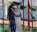 Edvard Munch - The Kiss - BF.1968.1 - Museum of Fine Arts, Houston.jpg