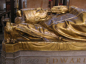 Cecil Thomas (sculptor) - Thomas' effigy of Bishop Talbot in Southwark Cathedral