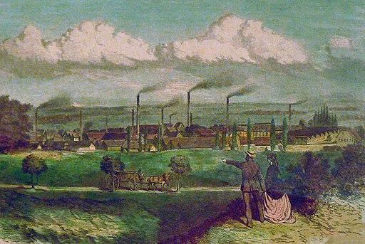 Egestorff Fabriken 1870