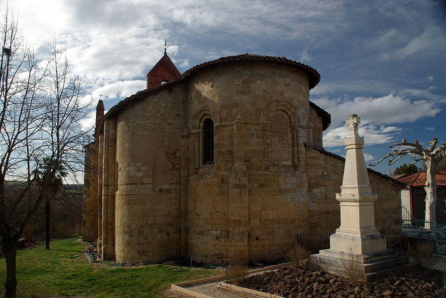 Église Sainte-Suzanne de Sainte-Suzanne,  (Classé, 1989)