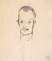 Egon Schiele - Bildnis Arthur Roessler, 1910.jpeg