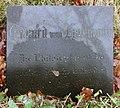 Ehrengrab Columbiadamm 122 (Neukö) Eduard von Hartmann.jpg