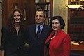 Ehud Barak with Nirit Bakshi and Miriam Nofech-Mozes D612-114.jpg