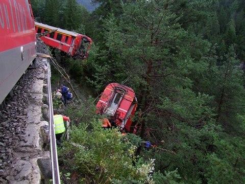 Eisenbahnunfall von Vaz-Obervaz