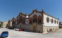 El Pinell de Brai - Weinkellerei der Genossenschaft - Vorderseite.jpg