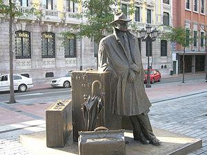 Asturianu: El viaxeru. D'Eduardo Úrculo