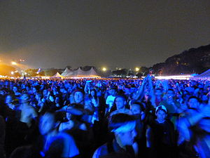 Electric Zoo - Electric Zoo Festival 2011 at night